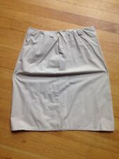 Banana Republic Women's  Skirt, size 10 A LINE  beige COMPLIMENTS COMING 2 YOU