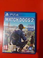 WATCH DOGS 2 PS4 COME NUOVO ITALIANO