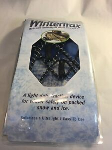 Wintertrax Light Duty Traction Device for snow & Ice (for Shoes & Boots)