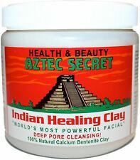 Aztec Indian Healing Calcium Bentonite Clay Face Mask Natural 1lb 100% Genuine