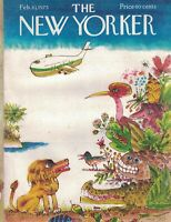 1975 New Yorker February 10 - Lost in the Jungle of Manhattan