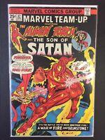 Marvel Team Up #32 Human Torch & Son Of Satan Marvel Comics Combine Shipping