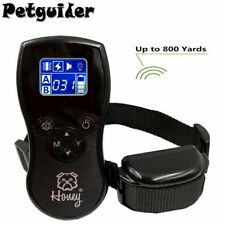 Electric Dog Training Collar Large Dog Training Vibrate, Shock, Noise 800 Meter