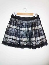 Lace Above Knee Hand-wash Only Regular Size Skirts for Women