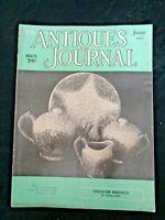 Antiques Journal 1957 Etruscan Majolica Jade Incense Burner Clara Poole Dolls