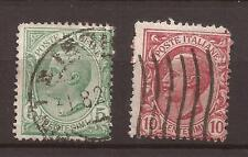 1906 SERIE n° 11 LEONI IN VARIETA' NON CLASSIFICATA DI FILIGRANA CAPOVOLTA USATA