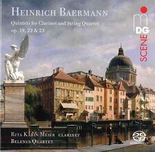 Heinrich Baermann: Clarinet Quintets Rita Karin Meier MDG Reference Hybrid SACD