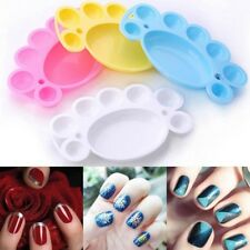 Painting Plate For Acrylic Liquid Mixing Palette Tips Tool Nail Art Dappen Dish