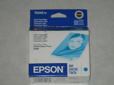 Genuine Epson T0342 Cyan Color Ink Stylus Photo 2200. T034220. Check out!!