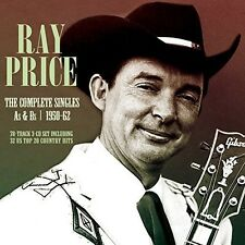 Ray Price - Complete Singles As & BS 1950-62 [New CD]