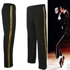 MJ Michael Jackson pants Billie Jean Trouser Golden Cotton Pants Elasticity