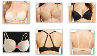 Xhilaration Women's Push-up perfect tee shirt bra Black beige mocha pink #506694