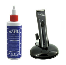 Wahl Clipper Oil 4oz and Wahl Bella Trimmer