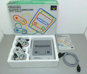 Super Famicom switchless PAL/NTSC 50/60Hz + cable RGB Csync! BOXED