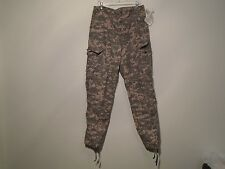 US ARMY COMBAT UNIFORM ACU PANTS BUG GUARD FLAME RESISTANT LARGE LONG NEW Y-13
