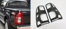 MATTE BLACK COVER TAIL LIGHT LAMP FOR TOYOTA HILUX VIGO CHAMP 2012 2013 2014 MK7