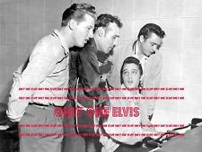 """ELVIS PRESLEY """"MILLION DOLLAR QUARTET"""" 1956 16x20 LARGE DELUXE Photo MEMPHIS"""
