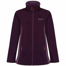 REGATTA LADIES CATHIE II FLEECE JACKET BLACKBERRY PURPLE or DUCHESS PINK RWA194