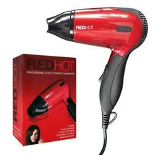 RedHot 1200W Compact Design Folding Travel Hairdryer Dual Voltage Hair Blower