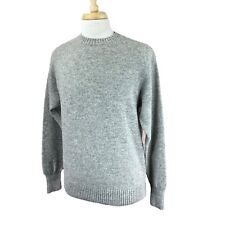 Pendleton Men's Washable Wool Pullover Crewneck Heather Gray Sweater Large