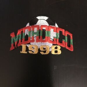 Morocco 1998 Soccer Patch