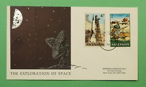 DR WHO 1971 ASCENSION FDC EXPLORATION OF SPACE  C240836