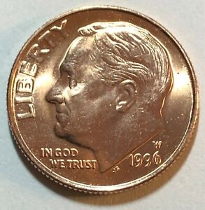 1996-W Roosevelt Dime ~ Uncirculated ~ West Point