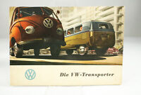 VW T1 Transporter Prospekt 1953 Werbe Broschüre Bulli Oldtimer 50er Jahre Bus