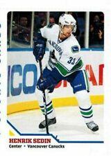 "Henrik Sedin 2010 Vancouver Canucks"" 1 de 9 SPORTS Illustrated Tarjeta"