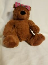 T.A.G. Lulu Brown Teddy Bear plush animal - 13""