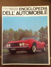 Sergio Pininfarina ENCICLOPEDIA DELL'AUTOMOBILE 1967 n°5 Dino FIAT Spider  23/6