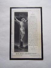IMAGE MORTUAIRE : Mme Arthur CLERMONT née Théodorine RUYTERS - 1897