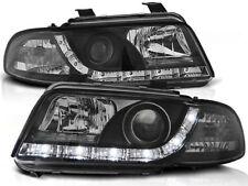 LED HEADLIGHTS LPAU26 AUDI A4 SALOON ESTATE 1994 1995 1996 1997 1998 BLACK