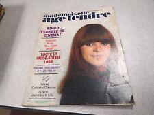 MADEMOISELLE AGE TENDRE N° 42 1968 Ringo - Françoise Hardy - Polnareff COMPLET *