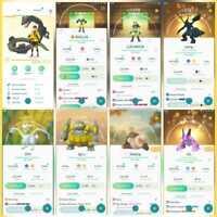 Pokemon Account Go Level 39 | 210 Shiny(Rare)| 254 Legendary(Rare)| 32 Lv100Rare