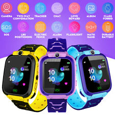 Kids Smart Watch With Camera Flashlight LBS Tracker SOS CALL GSM Position US