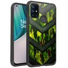 MetKase Hybrid Slim Phone Case Cover For OnePlus Nord N10 5G - GREEN CAMO BADGE