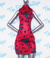 MONSTER HIGH TORALEI FREAKY FIELD TRIP DOLL REPLACEMENT OUTFIT RED DRESS ONLY