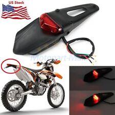 Dirt Bike Motorcycle Light 12 LED Rear Fender Brake Tail Light Off Road For KTM