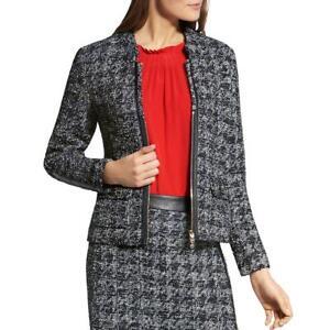 Basler Womens Tweed Business Office Wear Blazer Jacket BHFO 1282