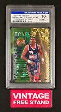 NBA Basketball Card 1995 Hakeem Olajuwon Vintage #5 GMC 10 Fleer