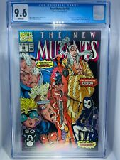 New Mutants 98. CGC 9.6. First Deadpool. Key Book. White Pages.