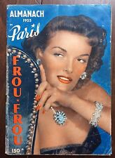 ►ALMANACH FROU-FROU - 1955 - JANE RUSSELL - LAMAR - MUSIC HALL PARIS PIN UP