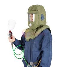 Full Face AIR FED Helmet BREATHING Mask for Sandblasting Sandblast & Spray Paint