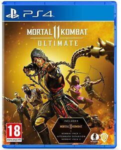 Mortal Kombat 11 Ultimate Sony Playstation 4 PS4 Game