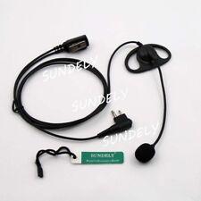 Écouteur/Oreillette de Sécurité Mains Libre en D-Forme Mic VOX/PTT pour Motorola