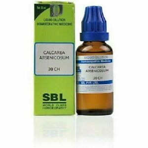 SBL Calcarea Arsenicosum Liquid Dilution Homeopathic Medicine 30ml