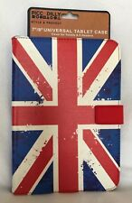 "Piccadilly -7""/8"" Universal Tablet Case - Union Jack - Brand New"