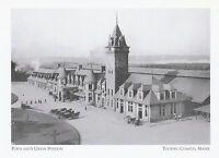 """*Maine Postcard-""""Portland's Union Station"""" *Touring Costal Maine (A312)"""