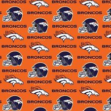 Bthy Nfl Denver Broncos Quilting Cotton Fabric By The Half Yard 6718-D